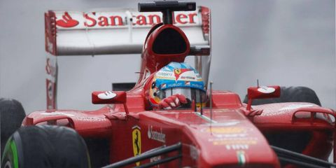Fernando Alonso finished second in the 2013 Formula One championship.