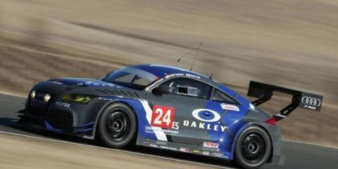 The Rotek Audi TT RS ended up winning the race by 28 laps.