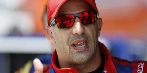 Tony Kanaan is working on getting comfortable in his IndyCar seat with Ganassi Racing.