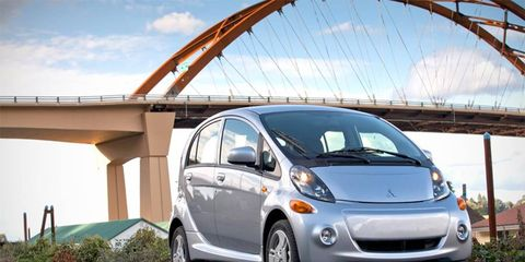 The i-MiEV is back after a one model year absence.