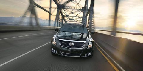 The 2014 Cadillac XTS Vsport is a decent vehicle overall.