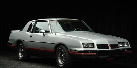 Here's a muscle car you don't see every day -- remember the Pontiac Grand Prix 2+2 from 1986?