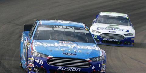 Aric Almirola had an underwhelming 2013 NASCAR Sprint Cup season, finishing 18th in points.