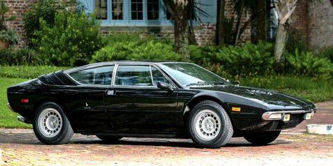 The Lamborghini Urraco: Form obliterates function, and we like it.