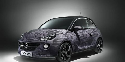 The Opel ADAM by Bryan Adams, exactly as you imagined it.