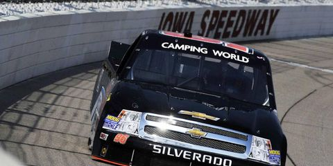 Ben Kennedy made five appearances in the Camping World Truck Series last season.