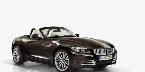Buyers of the 2014 BMW Z4 Pure Fusion Design will be able to combine this package with the M Sport options.