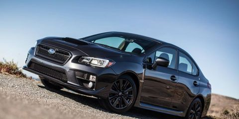 The 2015 Subaru WRX, still un-pretty, still a practical performance bargain.