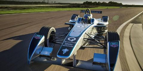 Formula E testing has been ongoing in advance of the series debut.