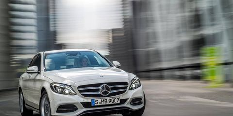 The new 2015 Mercedes C-class will include a C300 and C400 sedan for the U.S., among other variants.