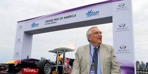 Leo Hindery Jr. heads the Port Imperial Racing Associates (PIRA) group that Formula One boss Bernie Ecclestone says is in breach of contract.