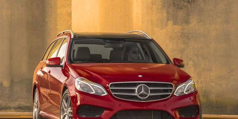 The 2014 Mercedes-Benz E350 4Matic Wagon has just the right amount of accommodations.
