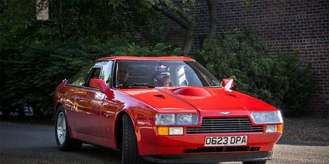 This Aston Martin V8 Zagato just about stole the show at Greenwich Concours this year.