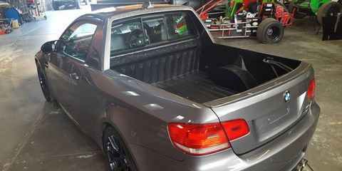 Mad Dog Racing turned an E92 BMW M3 into the ultimate track 'ute.