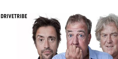 """We'll see if """"The Grand Tour"""" hosts are any good at things off the TV screen now with their new website, DriveTribe."""