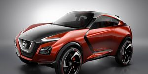 The Nissan Gripz concept debuted at the 2015 Frankfurt motor show, possibly indicating a new styling direction for the automaker's venerable Z car line -- or previewing a new vehicle altogether.