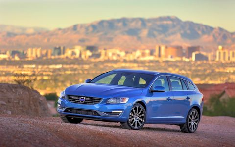 Power in the V60 is delivered through an eight speed automatic transmission.