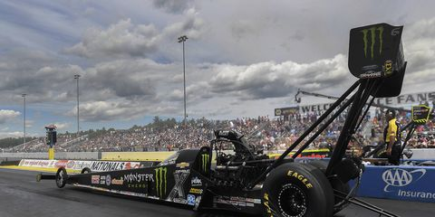 Brittany Force defeated Antron Brown.