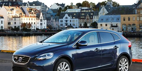 The Volvo V40 went on sale in 2012, after a 42-month development period.