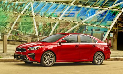 The 2019 Kia Forte delivers 147 hp and 132 lb-ft of torque.