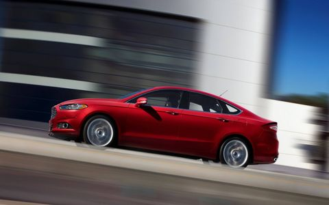 The 2014 Ford Fusion SE is a comfortable, roomy and remarkably quiet sedan for the money.