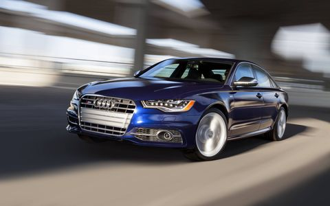 The 2015 Audi S6 offers up a firm ride that is relaxed and compliant all at the same time.