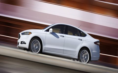 Fusion remains one of the most technologically advanced cars in the segment offering an array of available driver-assist features including adaptive cruise control with forward collision warning,