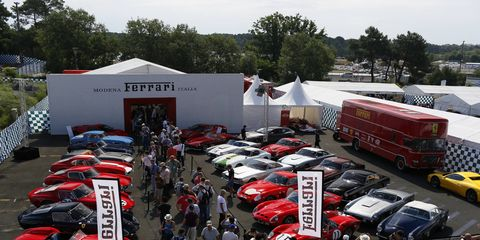"""Ferrari also said the event will herald the debut of a new car """"dedicated to collectors in the United States."""""""