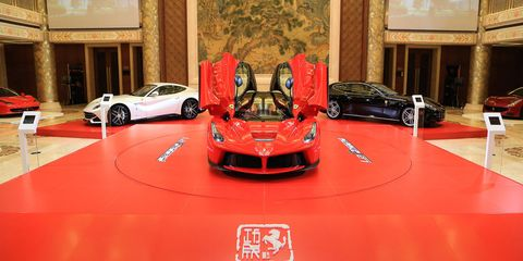 Ferrari is looking for funding for its growth plan.