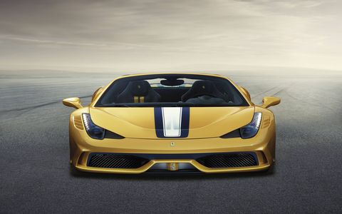 Only 499 Ferrari 458 Speciale As will be built.