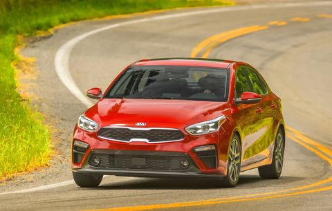 The 2019 Kia Forte starts at about $19K.