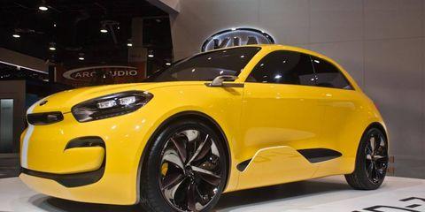 Kia KND-7 concept debuts in America at CES