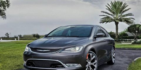 The 2015 Chrysler 200 will be available with a 2.4-liter inline-four and a 3.6-liter Pentastar V6.