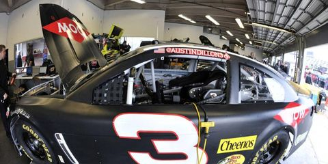 Austin Dillon is set to drive in the legendary No. 3 car.