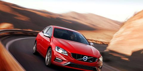 The 2014 Volvo S60 R-Design is a rather peppy Volvo.