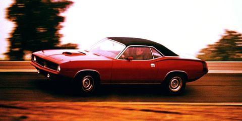 The 1970 Plymouth Hemi Cuda testing.
