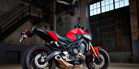 Base price for the FZ-09 starts out at $7,990.