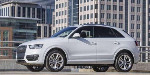 The 2015 Audi Q3 will debut at the Detroit auto show.