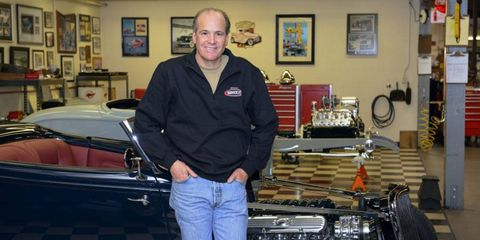 Brizio has been building hot rods for 35 years and has built somewhere around 300 cars.