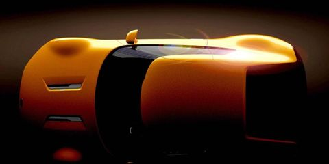 The Kia Stinger is a rear-wheel drive shooting brake.