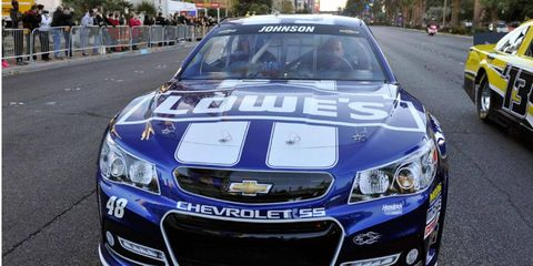 Chevrolet has dominated the Manufacturers' Championship in the NASCAR Sprint Cup Series, winning the title for the past 11 years.