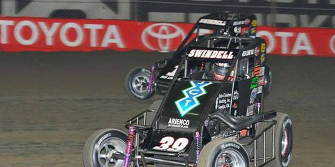 Kevin Swindell has won four consecutive Chili Bowl's.