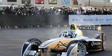 Lucas di Grassi has spent a considerable amount of time behind the wheel of the new Spark-Renault SRT_01E.