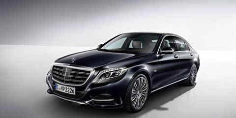The Mercedes S600 revealed today at the Detroit auto show.