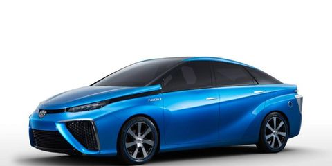 At the Consumers Electronics Show this week Toyota claimed that a production version of its four-door midsize FCV concept fuel cell sedan will hit showrooms some time in 2015.