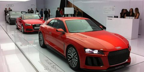 While the light shone brightest on the Sport quattro laserlight Concept, there was much more technology from Audi at CES.