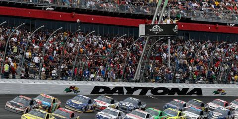 The Daytona 500 is scheduled for Feb. 23.