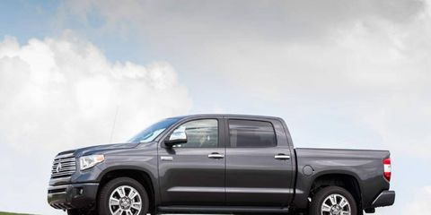 The 2014 Toyota Tundra Platinum CrewMax is not completely up to par with the Silverado.