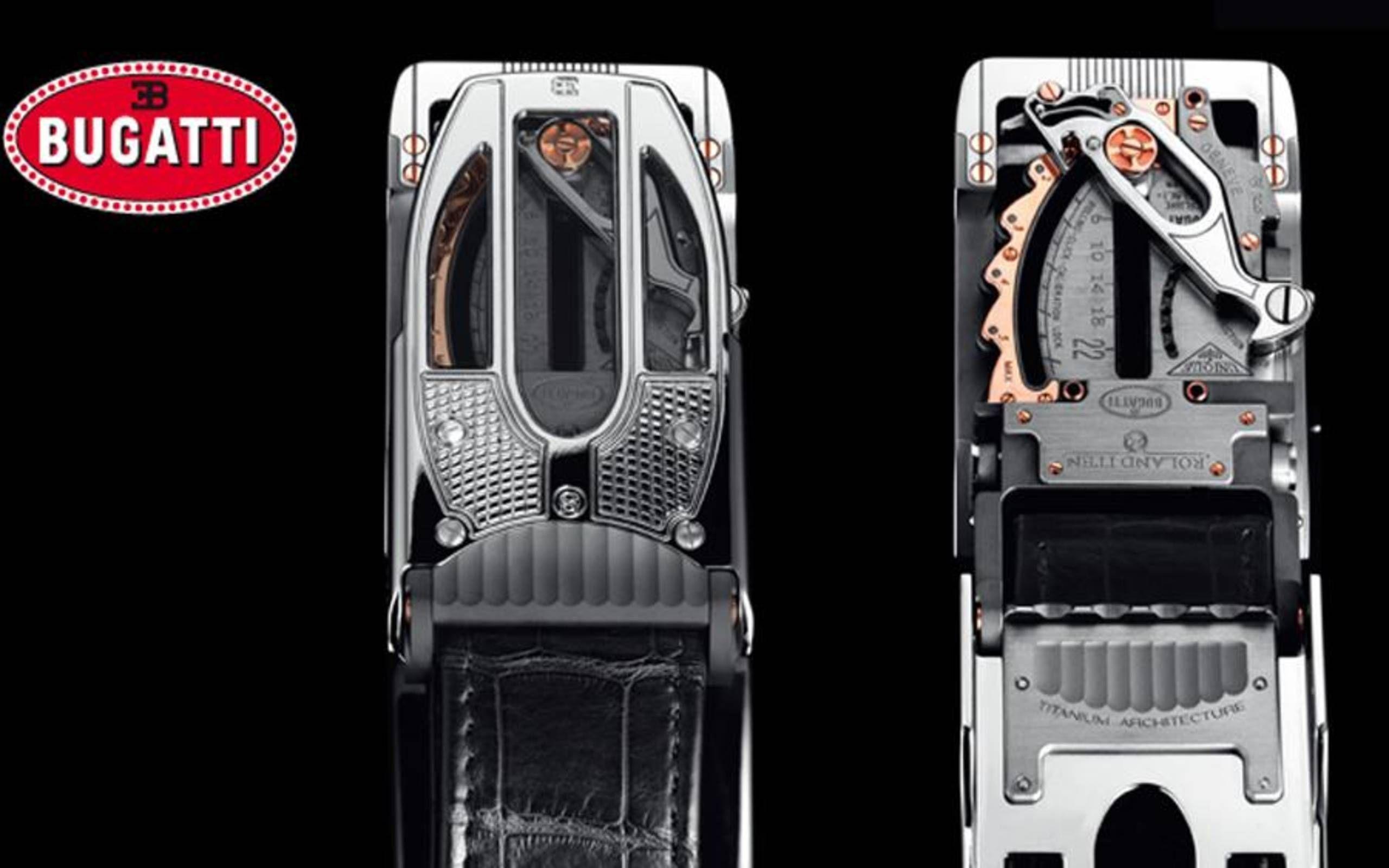 Black Bugatti Belt Buckle Sports car Gift
