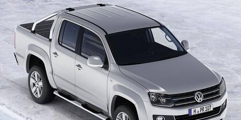 The Amarok is available in a number of world markets, and is approximately the size of 2014 Chevrolet Colorado.